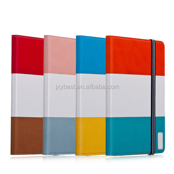 Top Grade New Coming Card holder flip stand smart cover case for ipad air ipad 5