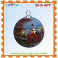 Sell YGM-B61 Inside Hand Painted xmas decoration