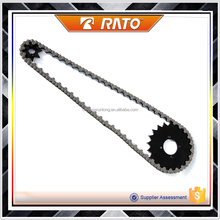 Best quality sprocket chain set custom motorcycle chain
