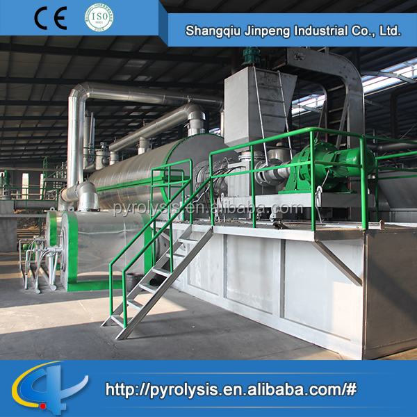 Plastic and Rubber Machinery Fully Continuous Waste Tyre Pyrolysis Plant