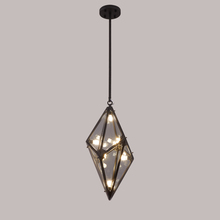 Clear Hanging Wholesale Ceiling Pendant Stained Glass Lamp