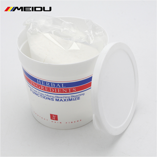 Lift up to 8 level super decolor powder/ bleaching powder for hair color cream