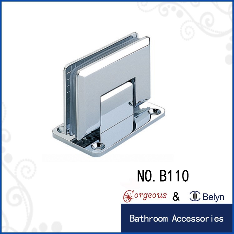Square bevel 90 wall-glass removable hinges/door hinge removal