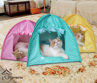 different color dog tent bed,dog tent camping,pet tent bed for puppy and cat