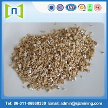 4-8mm /golden/ unexpanded/ vermiculite /for construction/vermiculite panel