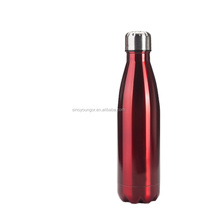 Hot Bullet 350ml double wall cola shaped stainless steel vacuum water tumbler