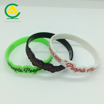 colourful sports bracelets event souvenir gift bands silicone wristbands