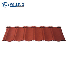 building material types of stone sand coated steel roof tiles roofing sheets