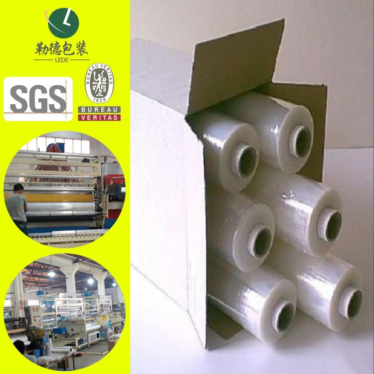 high quality industrial PE Stretch Film/often used for pallet package/lede wrap film