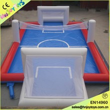 Portable inflatable soap soccer field for sale, multipurpose stadium soapy for football and volleyball game