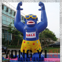 inflatable cartoon gorilla hot sale