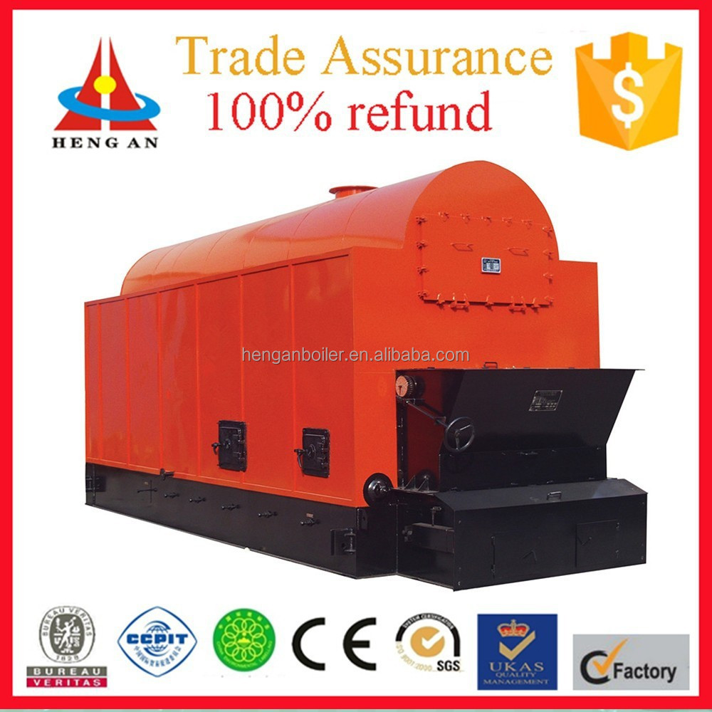 horizontal low pressure industrial water and fire tube small coal steam boiler for sale