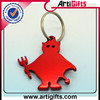 Good quality metal gecko shape bottle opener keychain