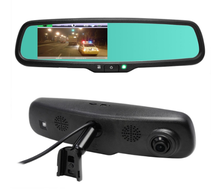 Auto Tachograph 5 inch LCD Rearview Mirror DVR HD Camera Camcorder Video Recorder