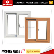 sliding opening pattern Aluminum blind inside PVC window
