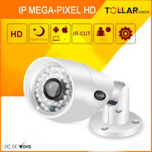 "High Quality 1.3 MP 1/3"" Megapixel CMOS Waterproof IP Camera"