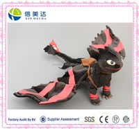 Deluxe How to Train Your Dragon 2 Toothless Night Fury Deadly Nadder Monstrous Nightmare Stuffed Plush Toy Dolls 60 CM