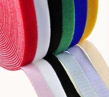 Manufacturer Nylon Velcro Hook And Loop Tape With Tape Tape