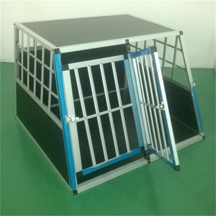 NEW design extra large metal aluminum dog crate