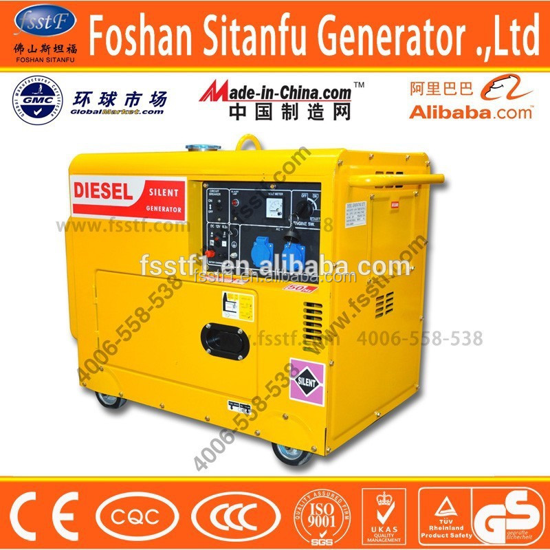 power electric portable generator for Africa and Asia
