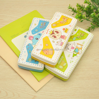 cute lovely plastic pvc creative multifunctional stationery pencil box case with low price1623