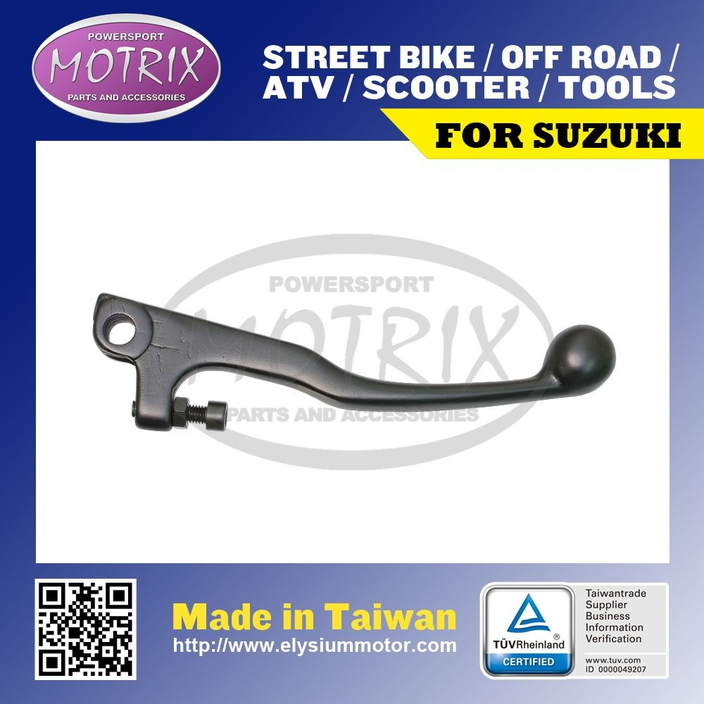 MOTOCROSS BLACK SHORTY BRAKE LEVER For SUZUKI RM