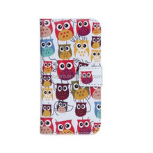 Wholesale Price Pattern Owl PU Leather Design Case for Samsung Galaxy S3 i9300 Galaxy S3 Neo i9301