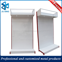 store display battery rack, peg board display battery rack, Simple high quality metal display perforated steering wheel rack