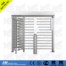 full height turnstile import direct from china factory with low price with access control card reader stainless steel surface