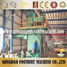 Steel Pipe Shot Blasting Machine / Internal Pipe Blaster ( CE ISO )