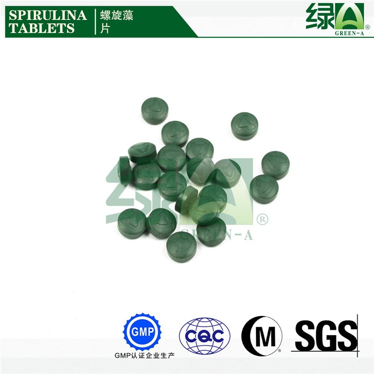 Specialized in Algae Breeding and Manufacturing Company Green A Raw Spirulina