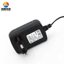 KC Plug Type CCTV LED Power Supply 12V 2A Adapter with 5.5m x 2.5mm