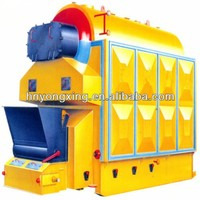 2Ton,1.25Mpa DZH series horizontal coal ,wood fired steam boiler by hand