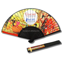 customized chinese bamboo dance fans
