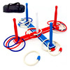 Sport Wooden Outdoor Games Ring Toss Game For Kids