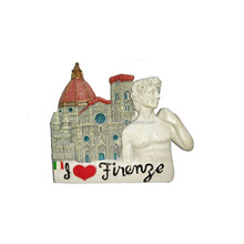 Resin Italy country souvenir fridge magnets wholesale