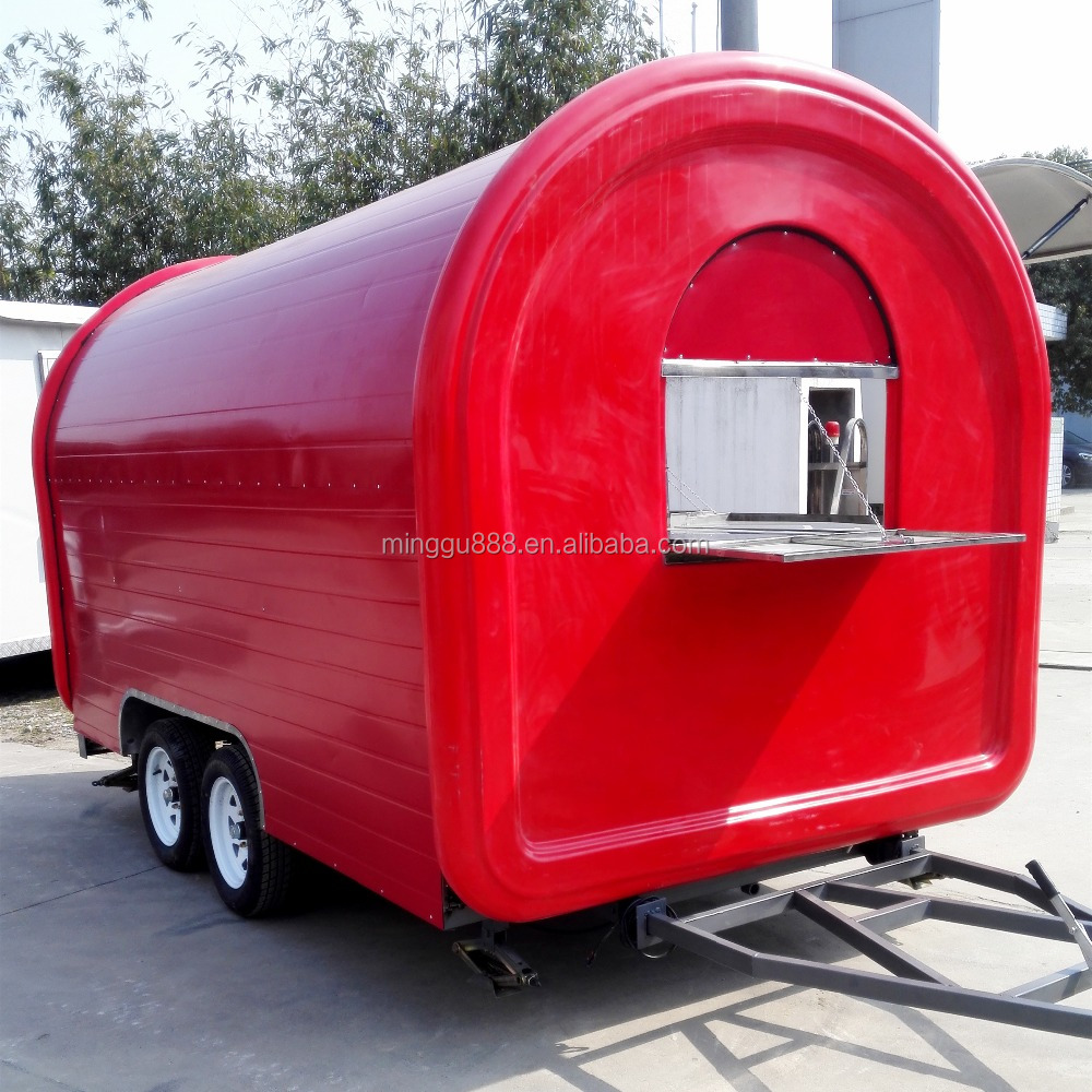 2017 hot sale China supplier street food cart fast food vending for best selling price