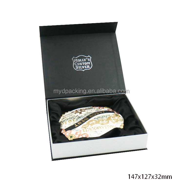 High quality paper box gift packaging custom printed for buckle