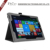 CSPDA Folio Standing Case Cover for microsoft surface pro 4,flip leather case for surface pro 4 with machine frame design