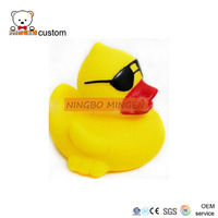 2016 Rubber Plastic Yellow Duckling Bath