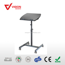 VM-LH05 D-10 Angle & Height Adjustable Rolling Laptop Desk Cart Over Bed Hospital Table Stand
