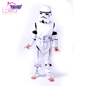 Halloween costumes china wholesale cosplay kids stormstrooper costumes cheap