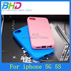 solid color case for iphone 5,For iphone 5 defender case