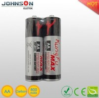 the aa 1.5v lr6 an used torch light zinc-carbon battery pack no.5 carbon batteries 1.5v r6 aa size dry battery