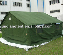 10 man large army surplus military style canvas military wall tent