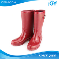 Factory good quality fashionable safety boots for women