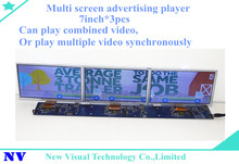 ShelfVision 7inch*3screen free sync ultra wide monitor qhd