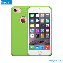 2017 New Custom Silicone Rubber Original Mobile Cell Back Cover Liquid Phone Case For Iphone 8 7 6