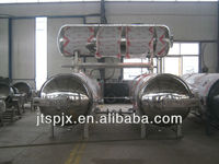 hot water circulating immersion high pressure processing vessel