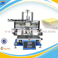 DX-3050D desktop pneumatic drive semi automatic silkscreen printing machine